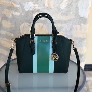 NWT Michael Kors md Ciara leather handbag purse